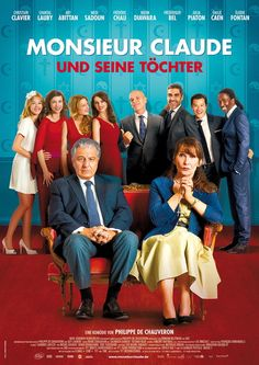 Monsieur Claude and his daughters: Kulturclash Comedy: The 4 beautiful . Series Movies, Film Movie, Frédéric Chau, Monsieur Claude, Julia Piaton, Movies Showing, Movies And Tv Shows, Disney Films, Showgirls