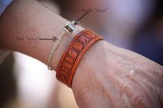 Doubt knot ~ Fear knot bracelet and devotional idea