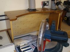 Shop project #4 Dust collector boxes for the Chop saw & RAS - by bluekingfisher @ LumberJocks.com ~ woodworking community