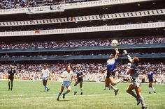 Diego Maradonna - Fake Goal - World Championship 1986 - ENG vs. ARG
