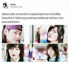 Every week when I see Taehyung in Hwarang I just go like GLALCLSLCKGNDKHEISSOADORABLEANDPRECIOUSVKSLXLHLDLCKD