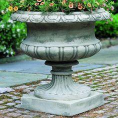 Campania International, Inc Cast Stone Urn Planter Color: Ferro Rustico Nuovo