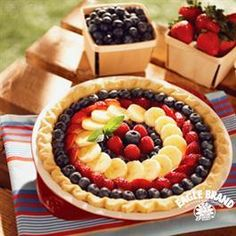 Fresh Fruit Cream Cheese Pie from Eagle Brand®