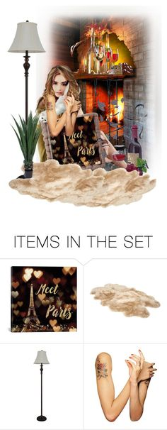 """""""It's a Better Place"""" by skailees ❤ liked on Polyvore featuring art, pillow, artexpression and scraphappens"""
