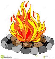 campfire clip art campfire no shadow clip art vector clip art rh pinterest com bonfire clip art free clipart halloween bonfire