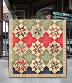 Hollyhill Quilt Shoppe & Mercantile - West Linn, OR, United States. One of the only shops in Oregon with over 300 beautiful quilts on display. Kits are ready to go for you so that you don't wait!