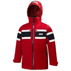 4ebf238c1c Helly Hansen Junior Salt Jacket Red 14 ** Continue to the product at the  image