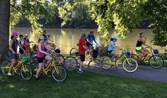 An again-at-capacity crowd joined Saturday's Pedal And Paddle excursion along the Schuylkill River trail from Pottstown to Douglassville and back, via bicycle and kayak.