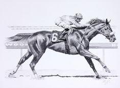 Bring On The Race Zenyatta Drawing