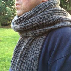 écharpe en côtes perlées Homemade Scarves, Knit Crochet, Knitting, Points, Scarf Patterns, Ainsi, Samba, Images, Diy
