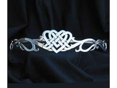 Celtic Jewelry and More Unique Celtic jewelry wedding jewlery bridal tiara Irish wedding accessories circlet fairy wedding Claddagh Renaissa...