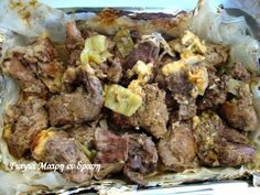 Γκιούλμπασι στη λαδόκολλα Recipies, Beef, Food, Recipes, Meat, Essen, Meals, Yemek, Eten