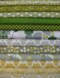 love these fabrics!  Would love to make a quilt with some of them! If only I had the time