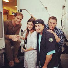 Dexter behind scenes