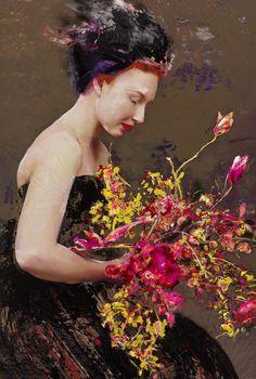 Lita Cabellut, Color of Dew 10, 2015, Opera Gallery