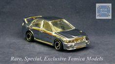 TOMICA 104C MITSUBISHI LANCER EVO IV | 1/59 | CHINA | SILVER PLATED 2003 #JDM