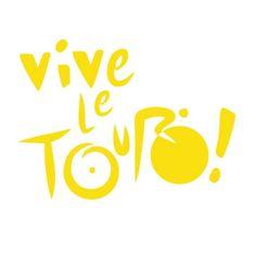Vive le Tour - Tour de France Cycling Decal