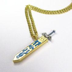 Legend of Zelda Removable Master Sword Long Chain Pendant Necklace