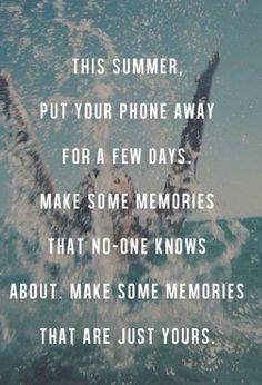 make memories this summer