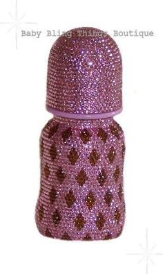 Bling Pink Chocolate Baby Bottle
