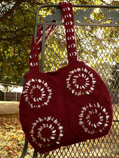 Ravelry: SuzyTeacup's Soda Pop Tabs Bag