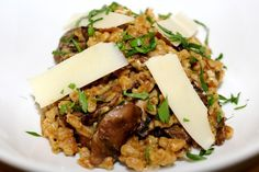 Baked Farro with Mushrooms – Gastronoms.net