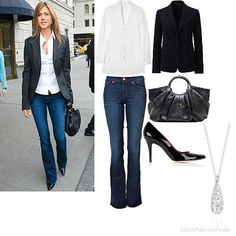 slightly casual while still simple and sleek
