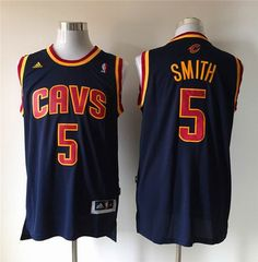 20b675932 Cleveland Cavaliers  5 J.R. Smith Navy CavFanatic Blue Jersey  19.0 Jr  Smith Cavs