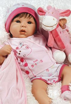 1)19 inch Realistic & Lifelike Baby Doll, Tall Dreams Ensemble, Ages 3+ 89,95 dollar