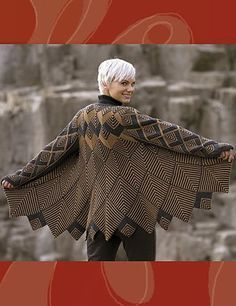 Ravelry: Harlequin Swing Coat pattern by Jane Slicer-Smith...would make a great throw
