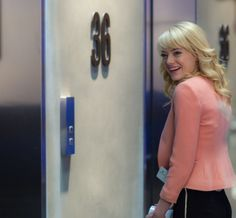 Emma Stone as Gwen Stacy in The Amazing Spider-Man 2