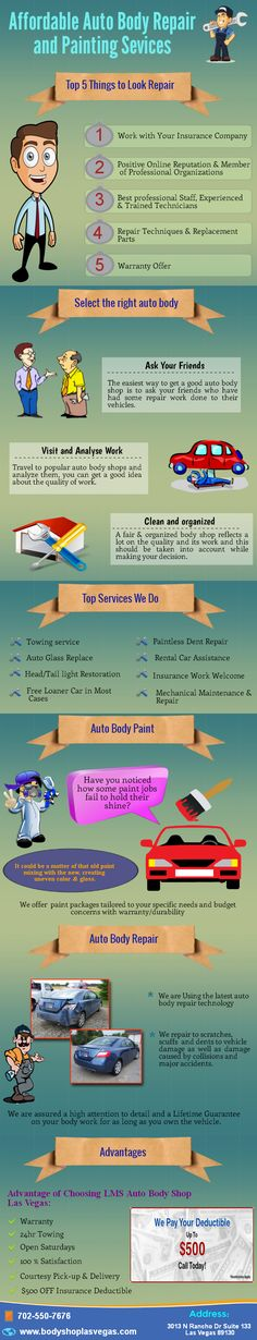 Is your auto damaged, looking for the best auto repair store? LMS Auto Body & Paint, service experts offer a variety of auto body repair services in Las Vegas to keep your car on the road. Our Expert technicians will repair the problems with modern devices to improve the efficiency levels. For Free Estimate, Call: 702-550-7676