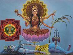 Indian Goddess, Kali Goddess, Mother Goddess, Shiva Hindu, Hindu Art, Krishna, Lord Vishnu, Lord Shiva, Devon Ke Dev Mahadev
