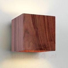 Mooie houten wandlamp CREMONA 1020241