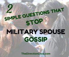 Gossip in the milita