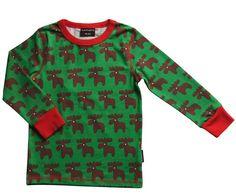 Baby-und Kinder Langarm Shirt Moose Maxomorra