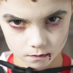 Homemade fake blood won't stain the skin and wipes off easy.