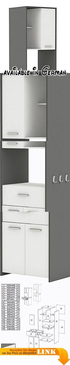 B078TTM1WX  Großer Raum feste Lager Küche Regal Doppelgeschirr - tür für küchenschrank