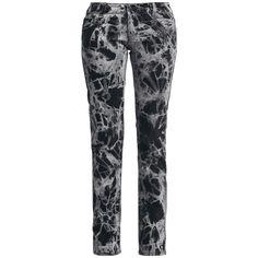 - Passform: Straight - Beinform: Gerade geschnitten - Leibhöhe: Low Rise - 5 Pocket Jeans - Batik Waschung  Der Extrem-Batiker von Alcatraz hat wieder zugeschlagen und für dich eine absolut coole Batik-Jeans designt, bei der jede Hose ein Unikat ist. Die Jeans im Five-Pocket-Style mit niedriger Leibhöhe ist gerade geschnitten und sitzt hauteng. Mit dem schwarz-grauen Beinkleid und einem passenden T-Shirt verschmilzt Du mit dem Dunkel der Nacht oder fällst am Tage auf. Ganz wie du es willst.