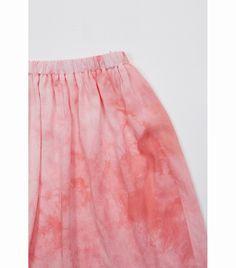 Begonia tie dye skirt