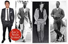 cary grant style | This Is Why He's Hot: Zac Efron's Style Icons Are Cary Grant ...