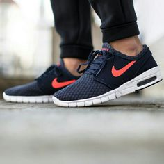 "Nike SB Stefan Janoski Max ""Obsidian/Hot Lava-White"" available now in-store and online @titoloshop Berne 