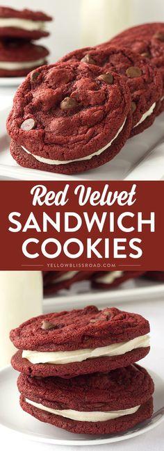 Red Velvet Sandwich