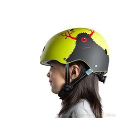 coolest bike helmets for kids: little monsters helmet from Nutcase is so cool