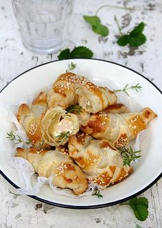 Mini Puff Pastry Rolls