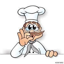 Bildergebnis für hähnchen clipart   Köchin Küche Applikationen ...   {Koch bei der arbeit clipart 89}