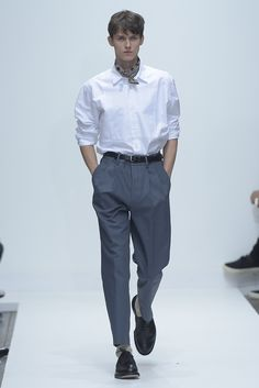 Margaret Howell Men's Spring 2016 [Photo: Giovanni Giannoni]