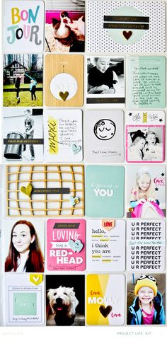 Some of my Favourites * Project Life Main Kit Only by JennPicard at @studio_calico