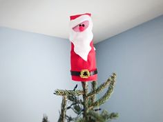 Felt Santa Tree topper