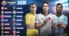 http://ift.tt/1r0nDK2 Copa America Centenario 2016 Draw #copa100 #copa2016 #centenario #mycopacolors #copaamerica #football #soccer Copa America Centenario 2016 Draw: Date Live Stream TV Info Seedings Pots - Copa America...